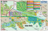 Indian Wells Map - PDF, editable, royalty free
