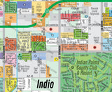 Indio Map - pdf, editable, royalty free