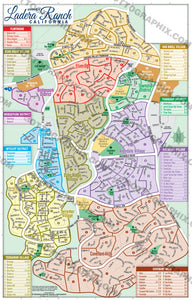 Ladera Ranch Map, Orange County, CA