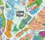 Laguna Niguel Map (3 options: Full, North & South), Orange County, CA