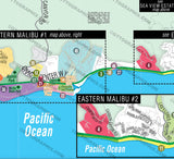 Malibu Map - EAST, Los Angeles County, CA