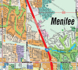 Menifee Map - PDF, editable, royalty free