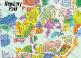 Newbury Park Map, Thousand Oaks, Ventura County, CA