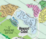 Newport Coast Map, Orange County, CA