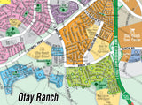 Otay Ranch Map, San Diego County, CA