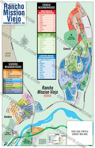 Rancho Mission Viejo Map - PDF, editable, royalty free