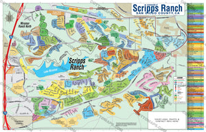 Scripps Ranch Map, San Diego County, CA