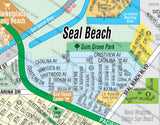 Seal Beach Map, Orange County, CA
