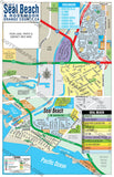 Seal Beach Map with Rossmoor Map - PDF, editable, royalty free