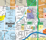 Woodland Hills Map, Los Angeles County, CA