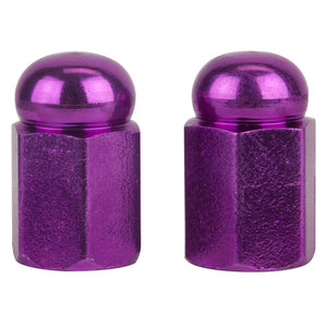 Purple Valve Caps