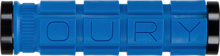 Blue Oury Lock-On Grips