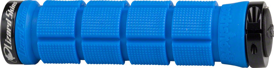 Lizard Skins North Shore Dual Clamp Lock-on Grips in Blue