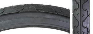 26x1.95 City Slick Black Tire K838