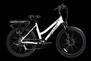 VICKO Hybrid Cruiser - FLAUNT Electric Bicycle - December Pre-order Savings!
