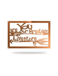 Steel Roots Decor Copper Greatest Adventure Arrows