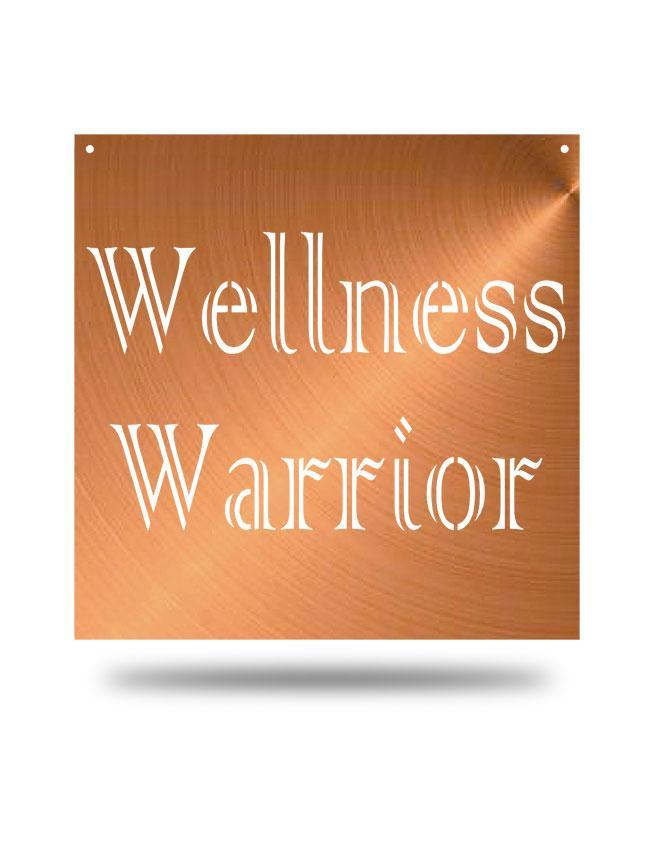 Steel Roots Decor Copper Wellness Warrior