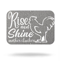 Steel Roots Decor Rise and Shine Farmhouse