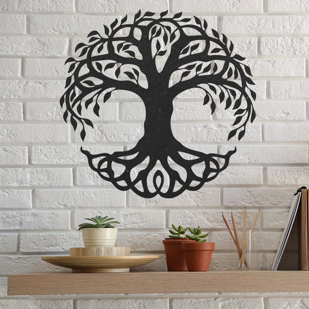 Steel Roots Decor Under 20 Tree Of Life