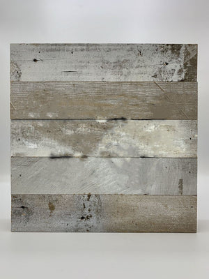 "Steel Roots Decor Wall Decor 12"" X 12"" Reclaimed Wood (AD TO ANY PIECE!)"