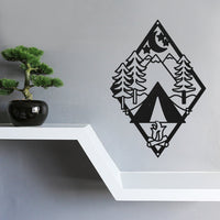 Steel Roots Decor Wall Decor Diamond Tent