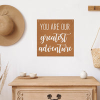 Steel Roots Decor Wall Decor Greatest Adventure Square