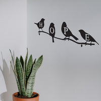 Steel Roots Decor Wall Decor Hope Birds