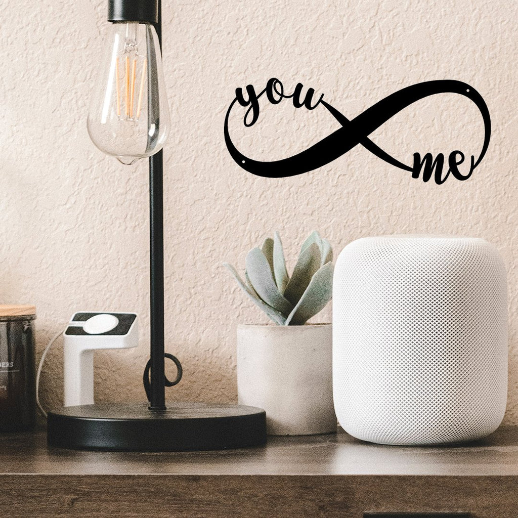 Steel Roots Decor Wall Decor Infinity You & Me