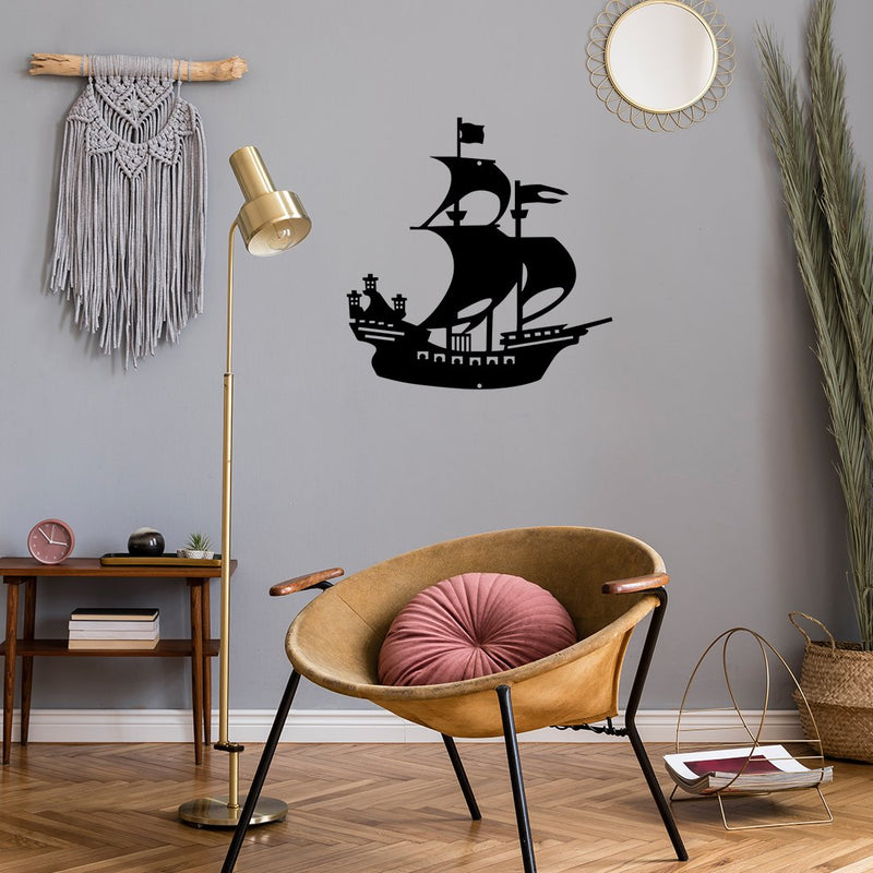 Steel Roots Decor Wall Decor Pirate Ship