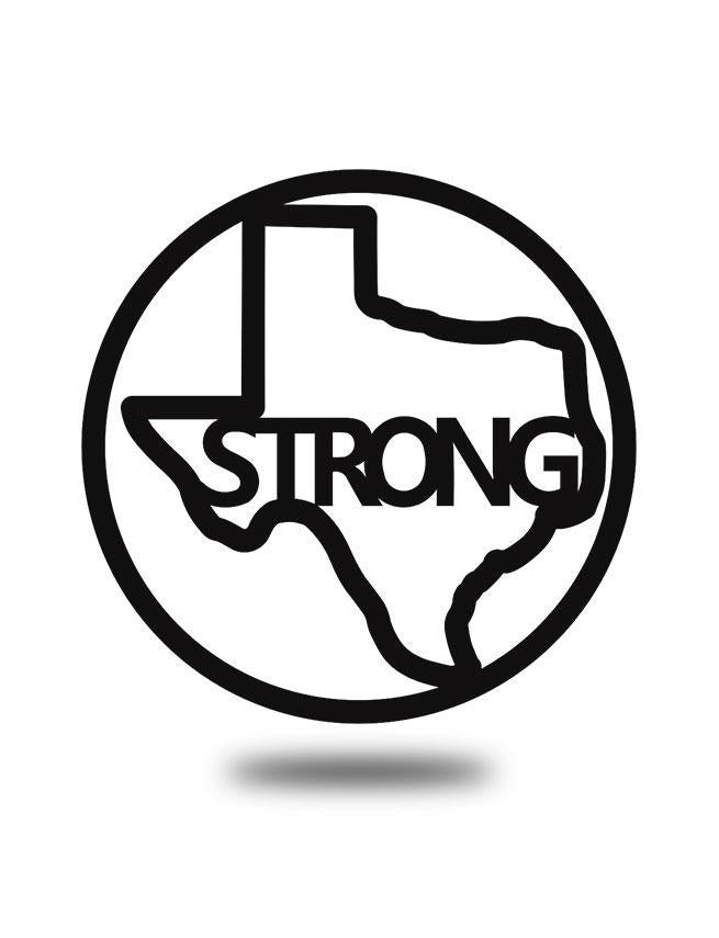 "SteelRootsShop Black ""Texas Strong"""