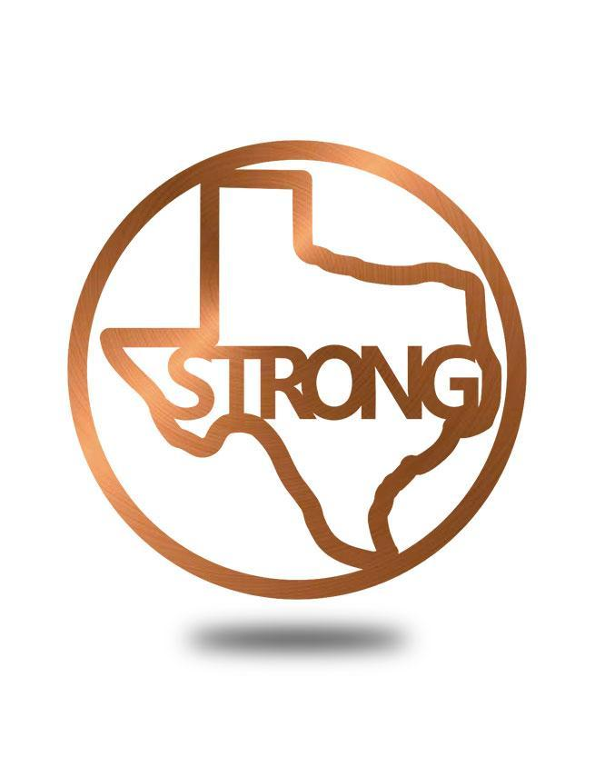"SteelRootsShop Copper ""Texas Strong"""
