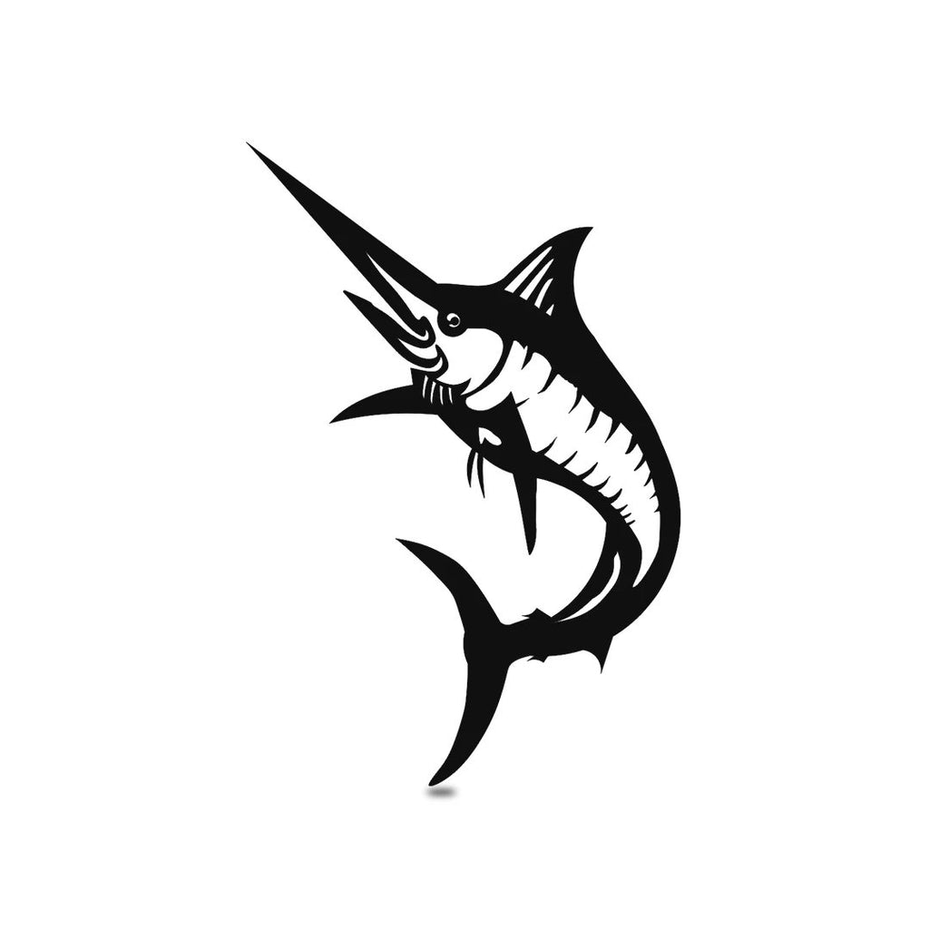 "SteelRootsShop Wall Decor Black / 18"" Marlin Wall Decor"