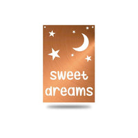 "SteelRootsShop Wall Decor Copper / 12"" ""Sweet Dreams"""