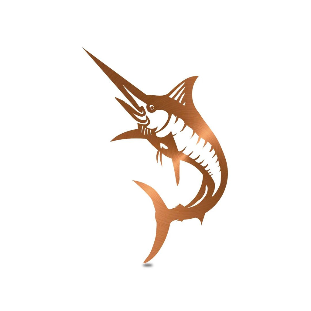 "SteelRootsShop Wall Decor Copper / 18"" Marlin Wall Decor"
