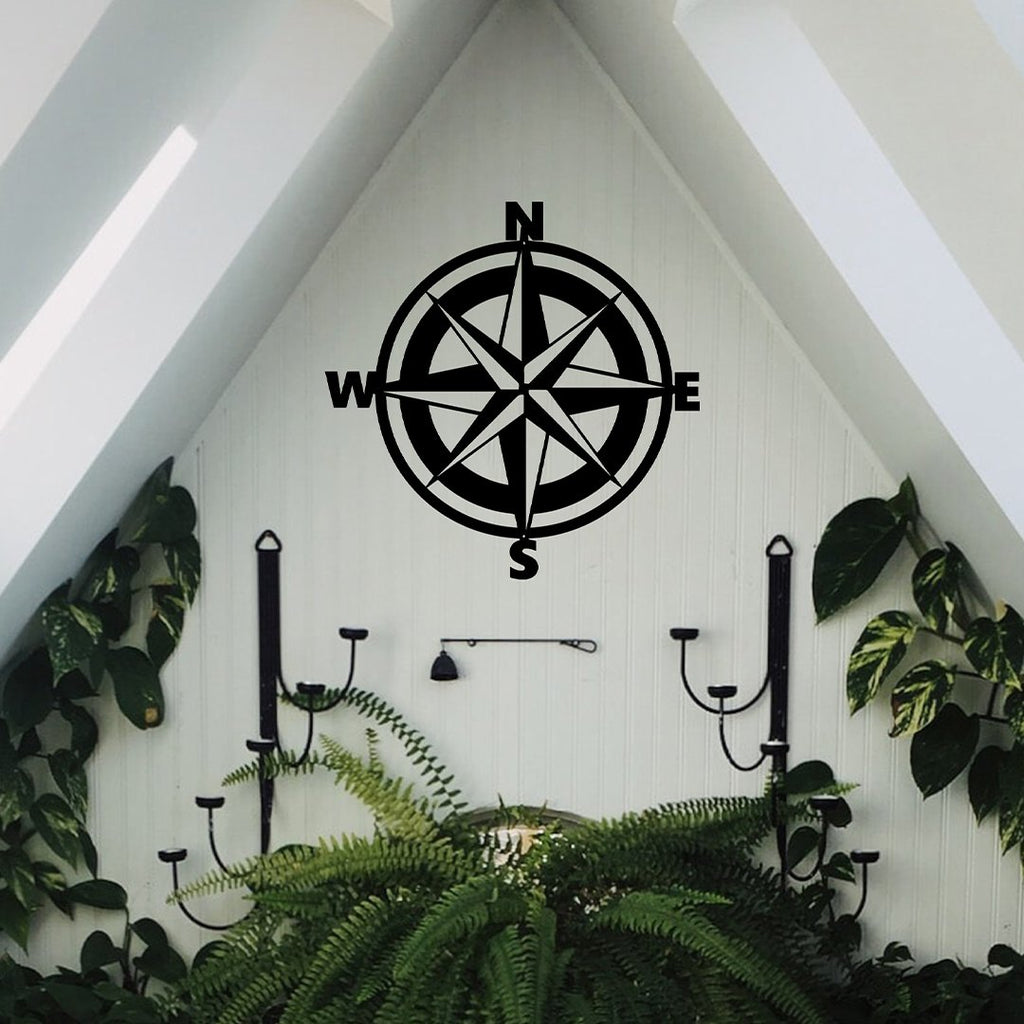 SteelRootsShop Wall Decor Nautical Compass
