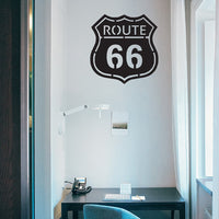 SteelRootsShop Wall Decor Route 66 Road Sign