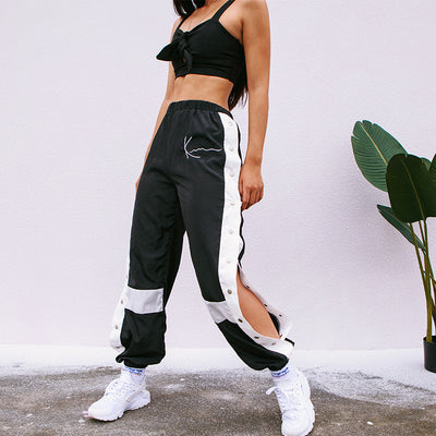 Sharp Net Joggers