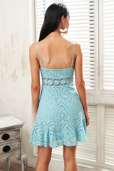 Embroided Laced dress