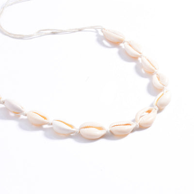 Shell chocker necklace