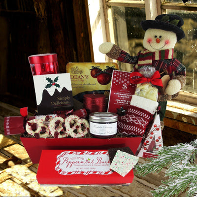 A Traditional Christmas Gift Basket