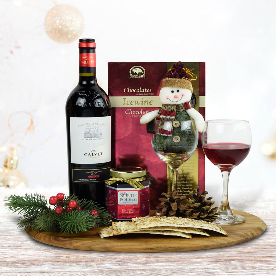 Christmas Alcohol Gift Sets.Christmas Gourmet Gift Baskets North Pole Company Canada