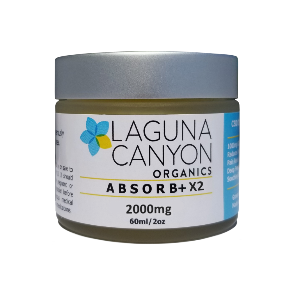 ABSORB+ X2 - 2,000mg Body Ointment