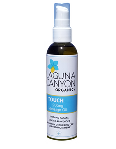 TOUCH - 500mg Body Oil Soothes Agitated Muscles, Nerves and Joints