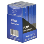 Fuma Blue Razz Fresh 4 Pods