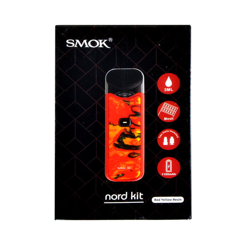Smok Nord Starter Kit Red Yellow Resin