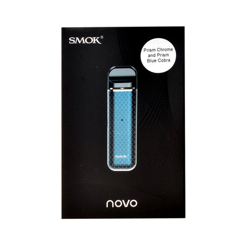 Smok Novo Starter Kit Prism Chrome and Prism Blue Cobra