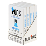 Plus Pods Blue Raspberry Pack of 4