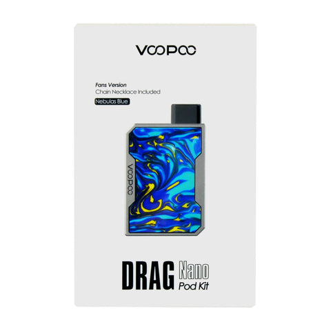 VooPoo Nebulas Blue Drag Nano Pod Kit