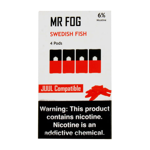 Mr Fog Swedish Fish 4 Pods
