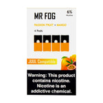 Mr Fog Passion Fruit + Mango 4 Pods